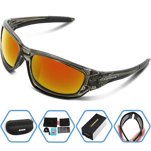 TOREGE Men's Polarized Sunglasses for Golf