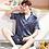 Thumbnail: Satin Silk Pajamas Short for Men Summer Sleepwear Male Pajama Set Soft Nightgown
