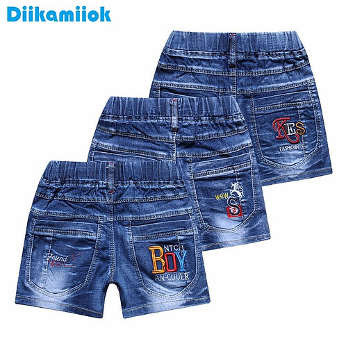 2018 New Fashion Jeans Shorts for Boy Summer Style Denim Boys Panties Casual