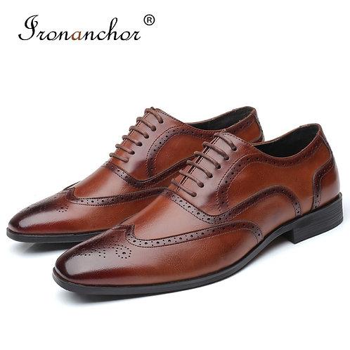 Formal Shoes Office Social Designer Wedding Luxury Elegant Male Dress Shoes