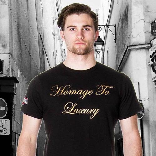 65 McMlxv Men's Homage to Luxury Graphic T-Shirt