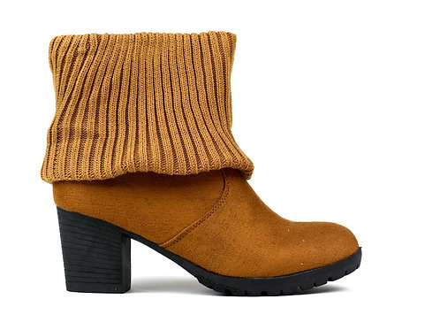 Women's Wool Ankle Boot Camel