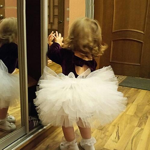 Fashion Girls Tutu Super Fluffy 6 Layers Petticoat Princess Ballet Dance Tutu