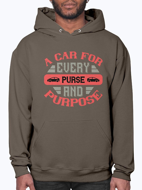 A Car for Every Purse and Purpose-  Car - Hoodie