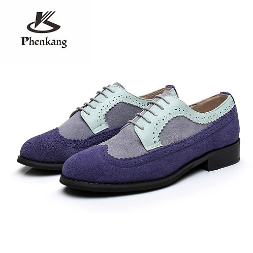 Men Flats Shoes Handmade /Casual Sneakers Shoes Oxford Shoes