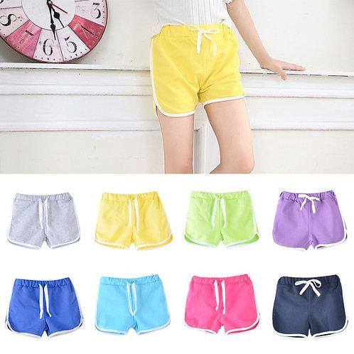3-13Yrs Kids Shorts Boys Girls Summer Sport Shorts Pants Unisex Children Candy
