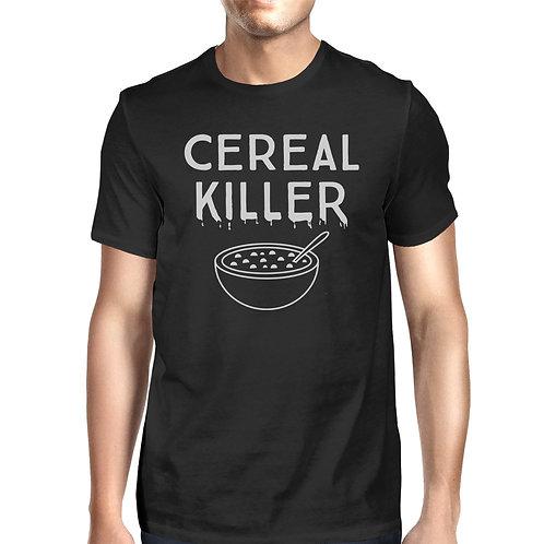 Cereal Killer Mens Black Shirt