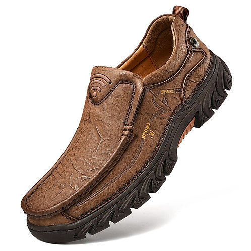 Genuine Leather Shoes Loafers Casual Flats Moccasins Shoes Fashion Luxury