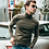 Thumbnail: Autumn Men Sweater Black Green Color Pullovers for Man Fashion Slim Fit Clothes