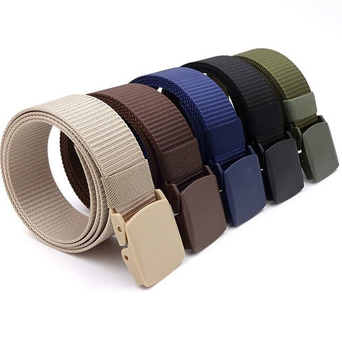 Men Female Belts Military Nylon Adjustable Belt Men Outdoor Travel
