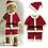 Thumbnail: Christmas Santa Claus Suit Top Quality Christmas Costume Suit Baby Boy/Girl 3PCS