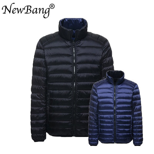 NewBang Down Jacket Men Ultra Light Down Jacket Autumn Double Side Feather