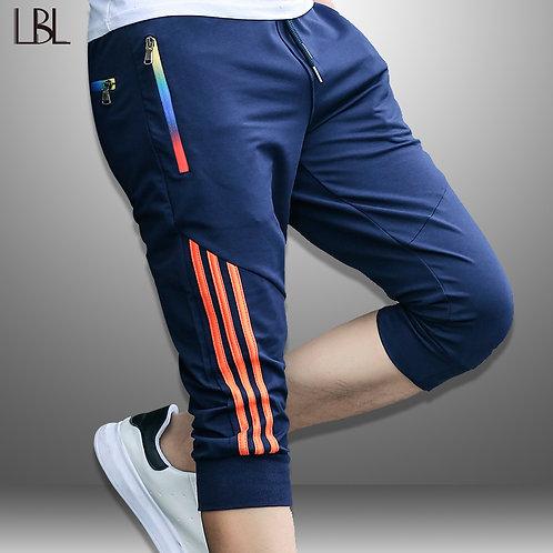 LBL Summer Casual Shorts Men Striped Men's Sportswear Short Sweatpants