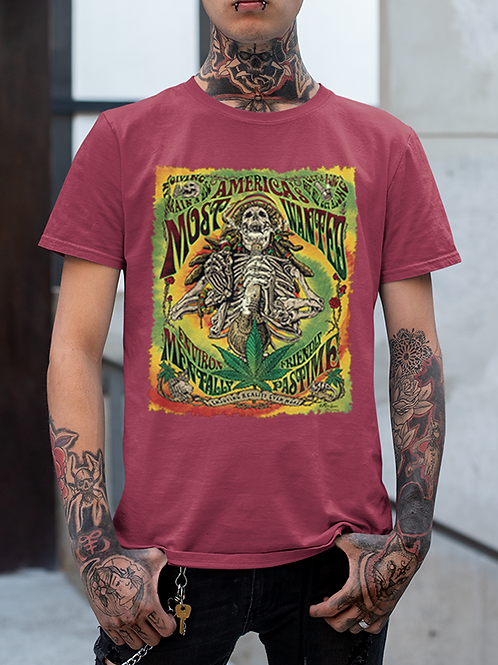 """New  Men's """"Most Wanted"""" Tee"""