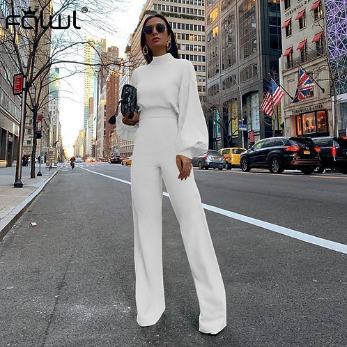 Casual Wide Leg Summer Bodycon Jumpsuit