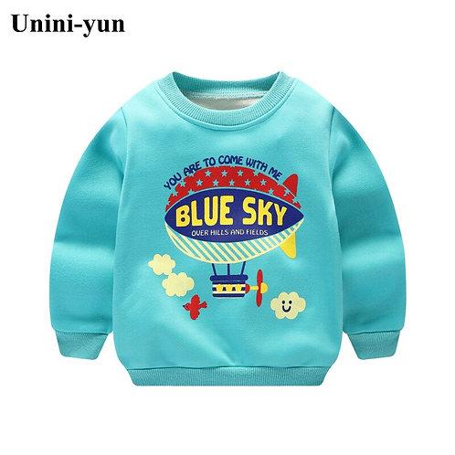 2017 Autumn Winter Children Boys Sweatshirt New Baby Boys Clothings Toddler