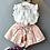 Thumbnail: Menoea 2020 Brand New Summer Girls Green Sleeveless Clothing Kids Floral