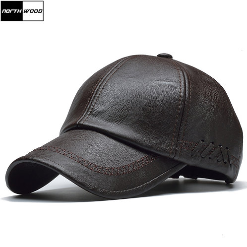 High Quality Leather Cap for Men