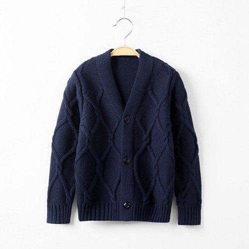 Autumn Casual Kids Baby Boys Cardigan Coat Boys Sweaters Cotton Baby Boys
