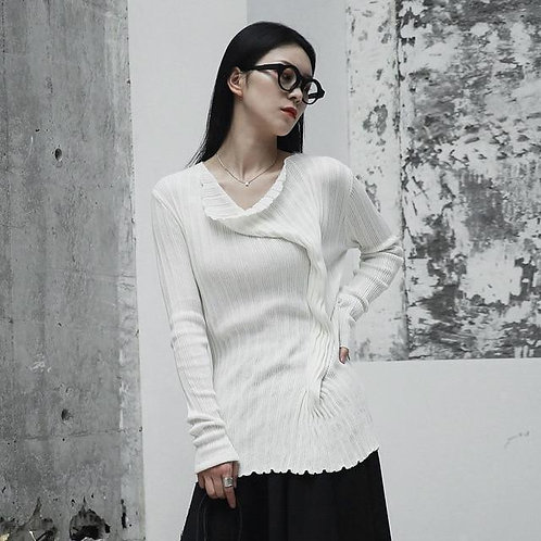 Furonto Bunch Sweater - White