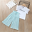 Thumbnail: Summer 2020 Baby Girls Clothes Sets Outfits Kids Clothes Short Sleeve +Pants