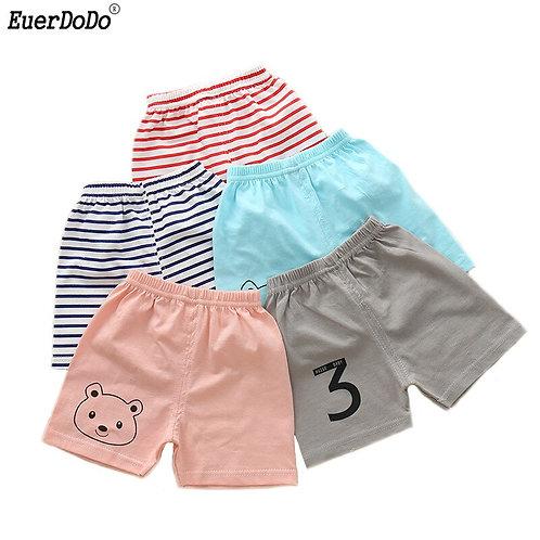 Summer Striped Toddler Boy Girl Shorts for Boys Girls Cotton Children Shorts