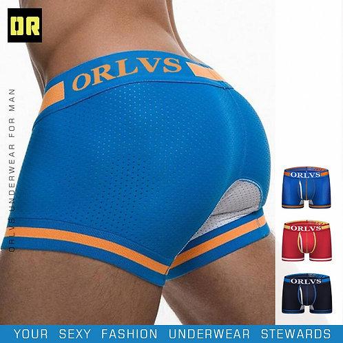 Underwear Men Boxers Breathable Comfortable Underpants Mesh Cueca Men Boxers