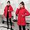 Thumbnail: 2020 Winter New Women Jacket Coats Slim  Female Down Cotton Hooded Overcoat