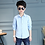 Thumbnail: White Button Boys Shirts for School 2018 Full Sleeve Turn-Down Boys Blouses