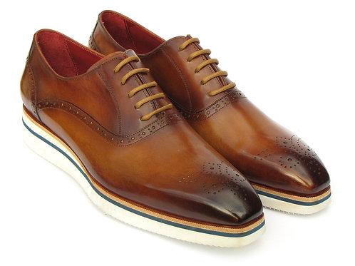 Paul Parkman Smart Casual Men's Brown Oxfords