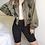 Thumbnail: Genayooa Knee Length Denim Shorts Women Push Up Elastic High Waist Biker Shorts