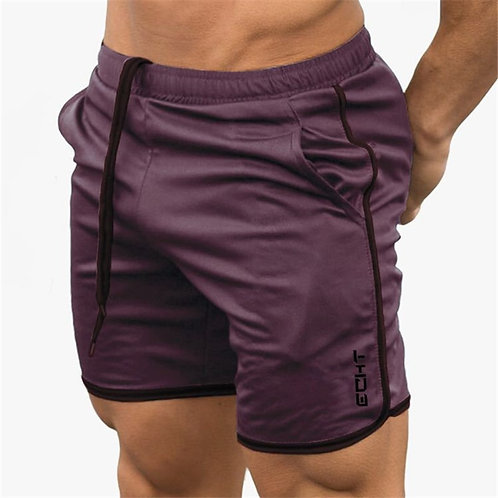 Mens Summer Fitness Shorts Fashion Compression Fast Drying Gyms Bodybuilding