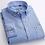 Thumbnail: Men's Plaid Checked Oxford Button-Down Shirt Single Patch Pocket Casual Shirts