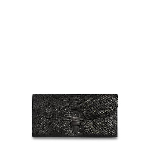 Wealthy Leather Wallet -Black