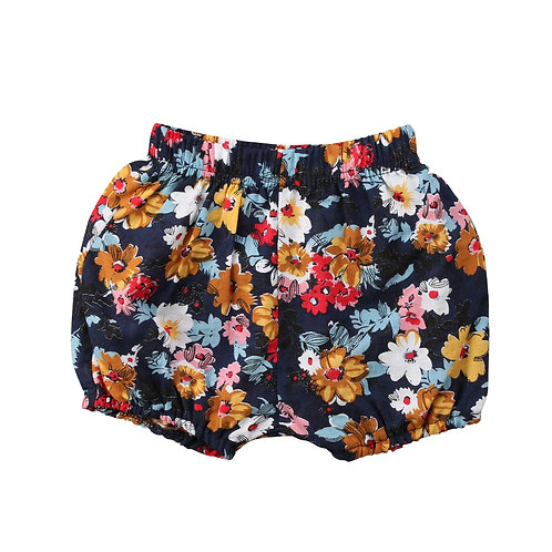 Baby Girl Lovely Floral Printed Short Pants Kid's Spring Summer Arrival Shorts