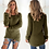 Thumbnail: Autumn Winter Women O-Neck Sweater Loose Knitted Ladies Sweater Female Plus Size