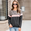 Thumbnail: HiloRill Women Hoodies Leopard Striped Patchwork Sweatshirt Autumn 2020