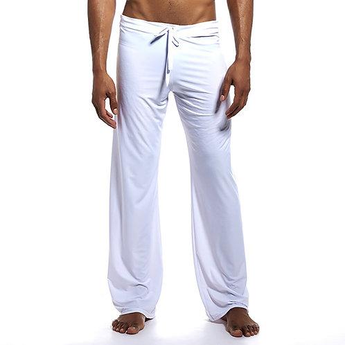 BZEL Pajama Pants Mens Sleep Bottoms Casual Trousers Male Sleepwear Mens Long