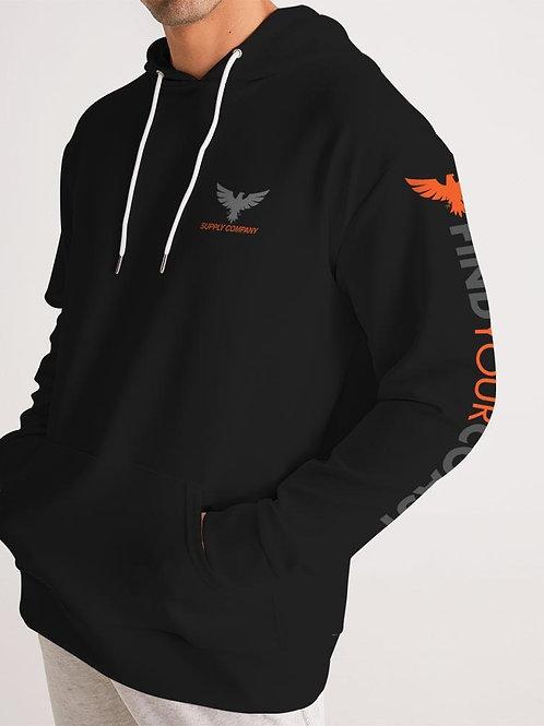 Men's Find Your Coast Hero Black Supply Company Sweatshirt Hoodie