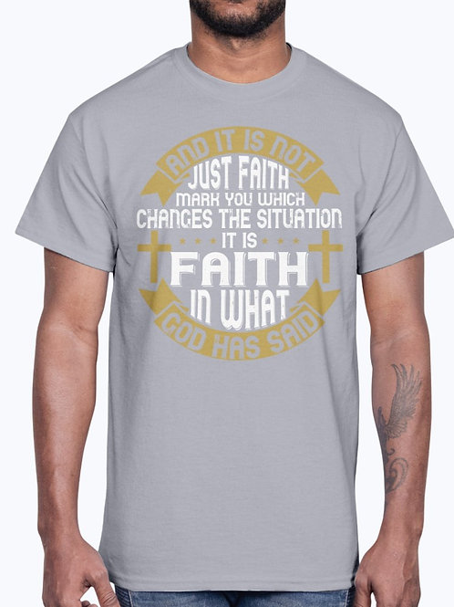And It Is Not Just Faith, Mark You, Which Changes the Situation