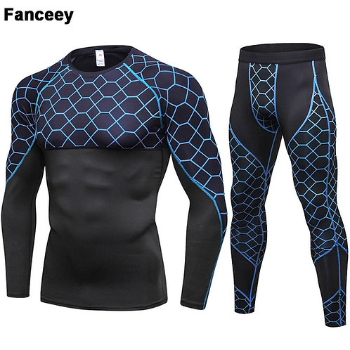 Fanceey Long Johns Winter Thermal Underwear Men Quick Dry St