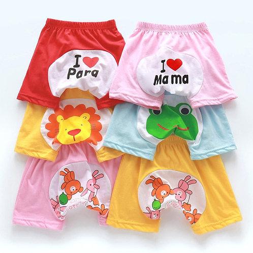 New Summer Short Pants Baby Girls' Boys' Summer Wear Thin Breathable Children's