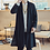 Thumbnail: Mens Long Length Windbreaker Jacket Coat Summer Thin Kimono Coat Vintage Male