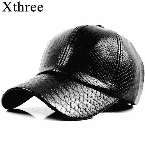 Xthree Fashion Baseball Cap / Leather Cap/ Hip Hop Snapback Hats