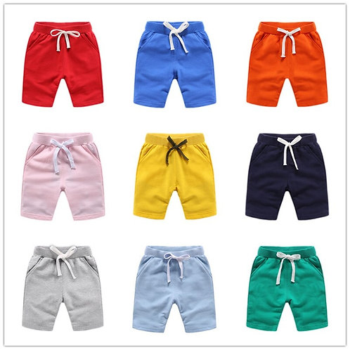 VIDMID 1-10y Baby Boys Shorts for Girls Cotton Trousers Kids Boys Beach Shorts