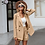Thumbnail: Simple Elegant Two-Pieces Women Short Suit Casual Streetwear Suits Female Blazer