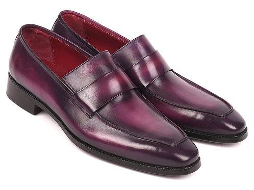 Paul Parkman Men's Loafers Purple