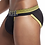 Thumbnail: JOCKMAIL Mesh Sexy Men Underwear Ice Silk Men Briefs Breathable Slip Bikini Gay
