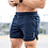 Thumbnail: Summer Style Mens Slim Shorts Calf-Length Fitness Bodybuilding Male Casual