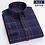 Thumbnail: 100% Full Cotton Plaid Business Casual Shirt Men